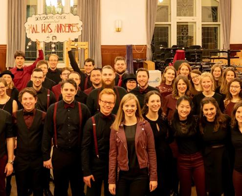 Psycho-Chor der FSU Jena Volkshaus 2020 (Foto David Cebulla)